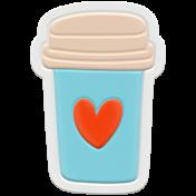 Unicorn Tea Party Element- Rubber Tea Cup 2b