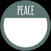 Coastal Print- Label Peace