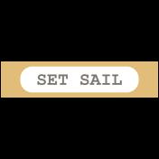 Coastal Print-Label Set Sail