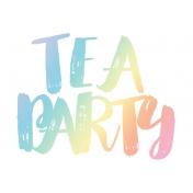 Unicorn Tea Party- Tea Card 01 4x6