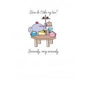 Unicorn Tea Party- Tea Card 03 3x4