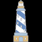 Coastal Print- Lighthouse