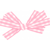 Spring Day Element- Pink Bow
