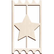 Spring Day Element- Ticket shape 2 Star Wood