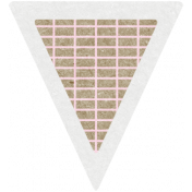 Scraps Kit #2- Kraft Triangle 3