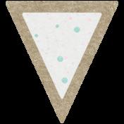 Scraps Kit #2- Kraft Triangle 2