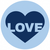 Oceanside Print- Circle 14- Love
