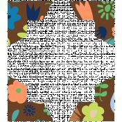 Oceanside Print- Corners- Floral