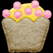 Seriously Sweet Element- Felt Cupcake 6