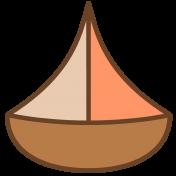 Oceanside Print- Sailboat 02