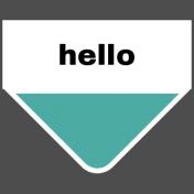 Oceanside Print- Tab- Hello