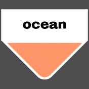 Oceanside Print- Tab- Ocean