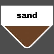 Oceanside Print- Tab- Sand