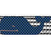 Oceaside Print- Whale- Sticker 03