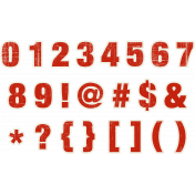 DSD Red Numbers