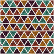 Bedouin Glitter Argyle 33 Transparency