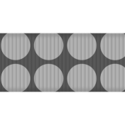 Medium Ribbon Template Polka Dots 04