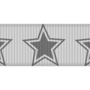 Medium Ribbon Template Stars 02