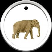 Kenya Elements tag 1 elphant