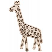 Kenya Elements wood giraffe