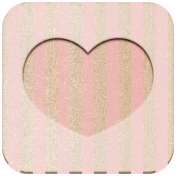Family Day- Square Heart- Pink