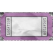 BYB- Tag- Location Purple