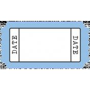 BYB- Print Tag- Date Blue