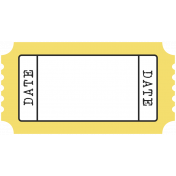 BYB- Print Tag- Date Yellow
