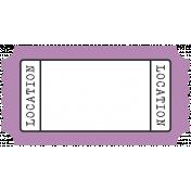 BYB- Print Tag- Location Purple