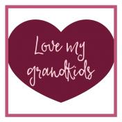 Family Day Word Art- Label- Love My Grandkids
