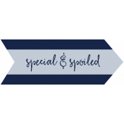 Family Day Word Art- Label- Special & Spoiled 2
