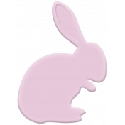 Easter Elements -Rubber Bunny 02