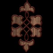 Nature Escape Elements- wood quatrefoil