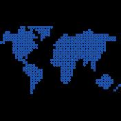 World Traveler Elements Kit- World Map
