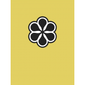 Here Now Alpha Card Yellow