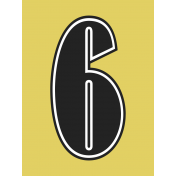 Here Now Alpha Card Yellow 6