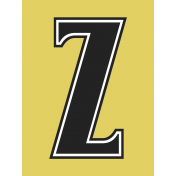 Here Now Alpha Card Yellow Z