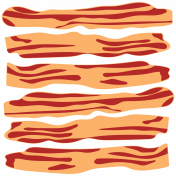 Food Day Illustration Bacon