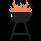 Food Day Illustration Grill