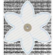 World Traveler Elements Kit- Paper Flower 04