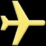 World Traveler Elements Kit- Rubber Airplane 01