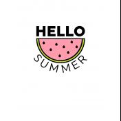 Summer Lovin'- 3x4- Journal Card 03
