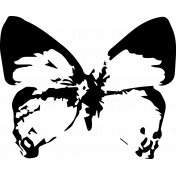 Seriously Butterfly 05 Stamp