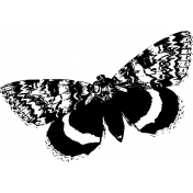 Seriously Butterfly 07 Stamp