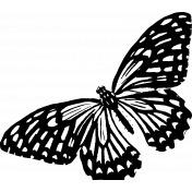 Seriously Butterfly 09 Stamp
