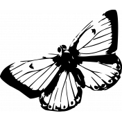 Seriously Butterfly 11 Stamp