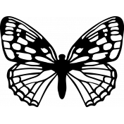Seriously Butterfly 15 Stamp