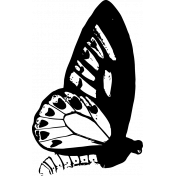 Seriously Butterfly 17 Stamp