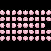 Enamel Bead Alpha Pink