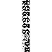 Ephemera Number Bit 03 Tile
